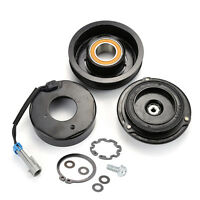 A/c Compressor Clutch Kit Pulley Bearing Coil Plate For Chevrolet Gmc 47362