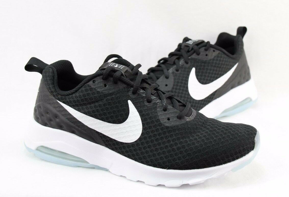 NIKE AIR MAX MOTION LW 833260-010 BLACK WHITE MEN SIZE  8.510 AVAILABLE