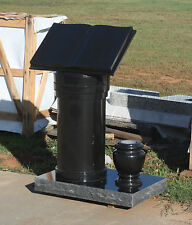 Granite headstone personal estate cremation pedestal max 4 cremation interment