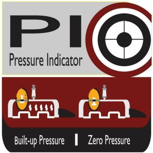 Prestige Svachh Deluxe Alpha 4 Litre Stainless Steel Pressure Cooker