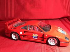 HOT WHEELS 1999 FERRARI F40 -60 RELAY CAR-1/18 SCALE- EXCELLENT