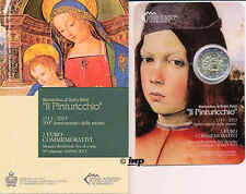 +++ 2 EURO Gedenkmünze SAN MARINO 2013 - Pinturicchio - Rarität +++