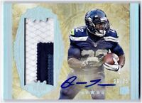 Robert Turbin 2012 Topps Five Star On Card AUTOGRAPH 3 Color PATCH #'d 9/25