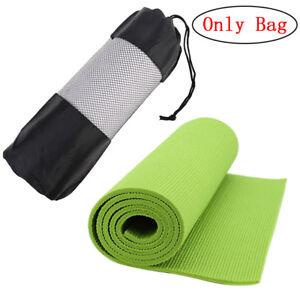 Popular Yoga Pilates Mat Mattress Case Bag Gym Fitness Exercise ... f4d94c2606d