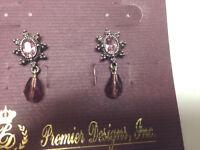 Premier Designs Violet Lace Earrings