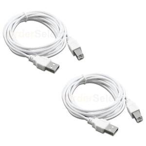 USB Printer Scanner Cable Cord Lead For HP Deskjet F300 F310 F325 F335 F340 F375