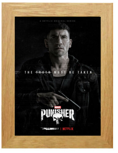 The Punisher TV Show Poster or Canvas Art Print A3 A4 Sizes Framed Option