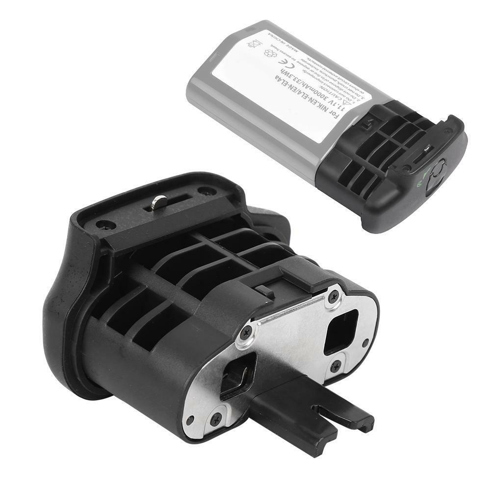 BL-3 Battery Chamber Cover EN-EL4 Adapter for Nikon D900/700/300 Camera Handle
