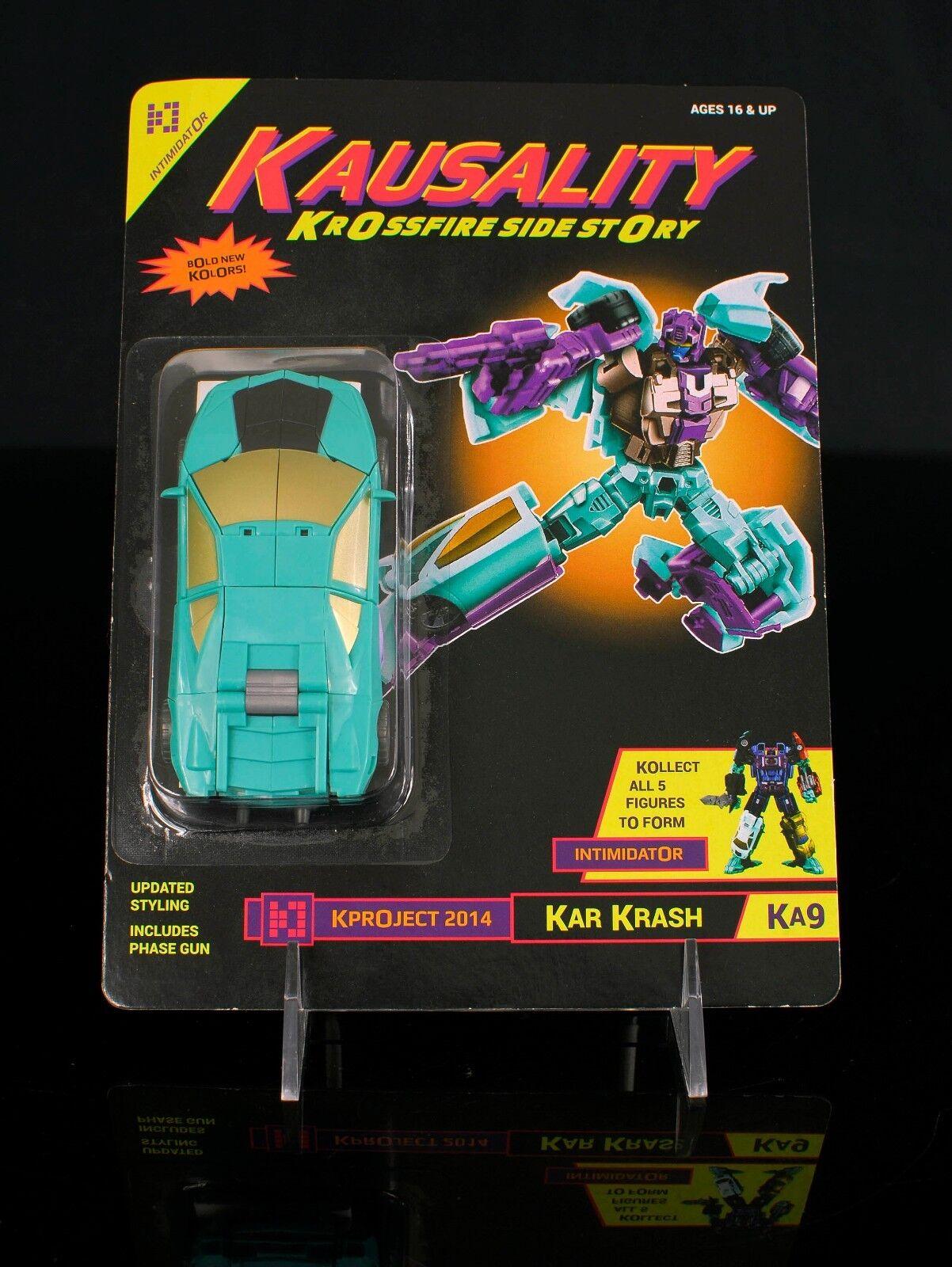 Fansproject Kausality Causality Kar Krash (G2 Breakdown) nuovo &  MOC Transformers  Garanzia di vestibilità al 100%