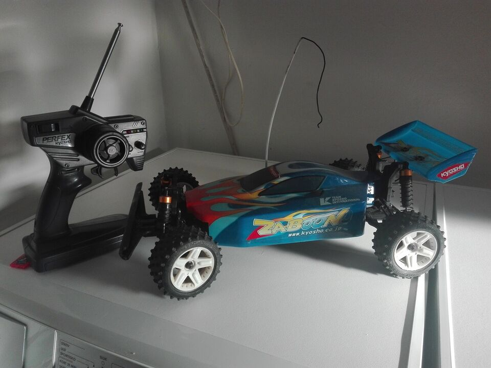 Fjernstyret bil, Kyosho Zaboon, skala 1:10
