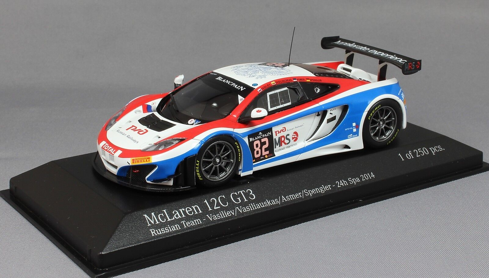 Minichamps McLaren 12 C GT3 SPA SPA SPA 14 Vasilyev Asmer Vasiliauskas Spengler 437141382 6ded2f