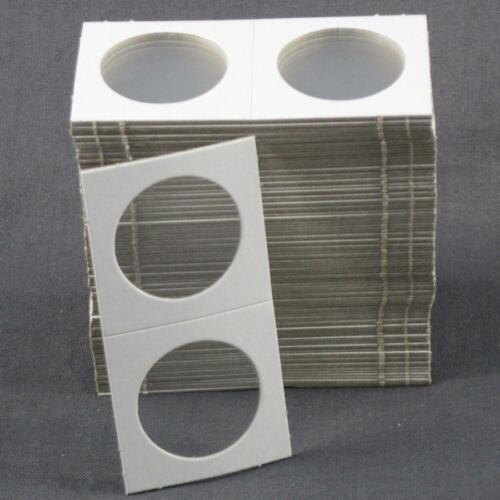 1,000 Cardboard 1.5x1.5 Coin Holder Mylar Flips for Small Dollars 1 1//2 x 1 1//2
