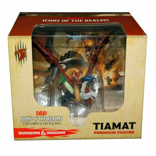 WizKids D D Icons Of The Realms Tiamat Premium Fantasy Miniature Figure - $139.95