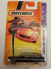 Matchbox 2007 #30 1963 Cadillac Hearse - Black - New in Package