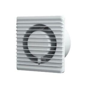 Silent bathroom extractor fan 100mm 125mm quite wall - Extractor bano silencioso ...