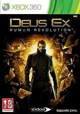 Xbox360 Deus Ex Human Revolution Nuevo Precintado Pal España