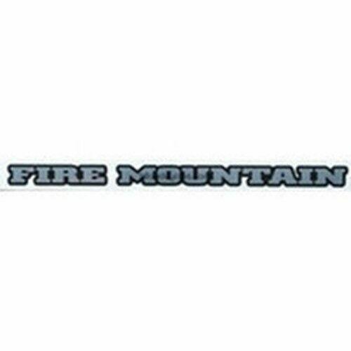 KONA Fire Mountain top tube model decal