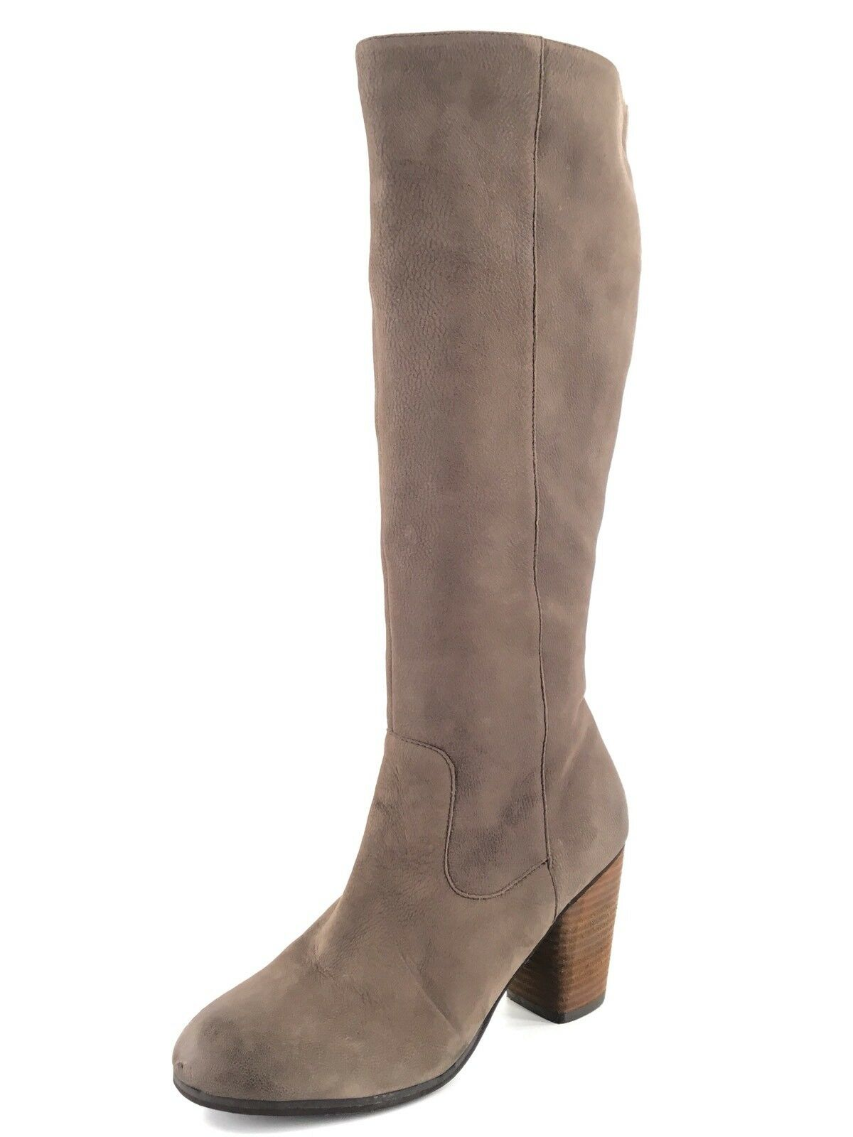 BP Transit Taupe Leather Knee High Fashion Boots Womens Size 8 M*