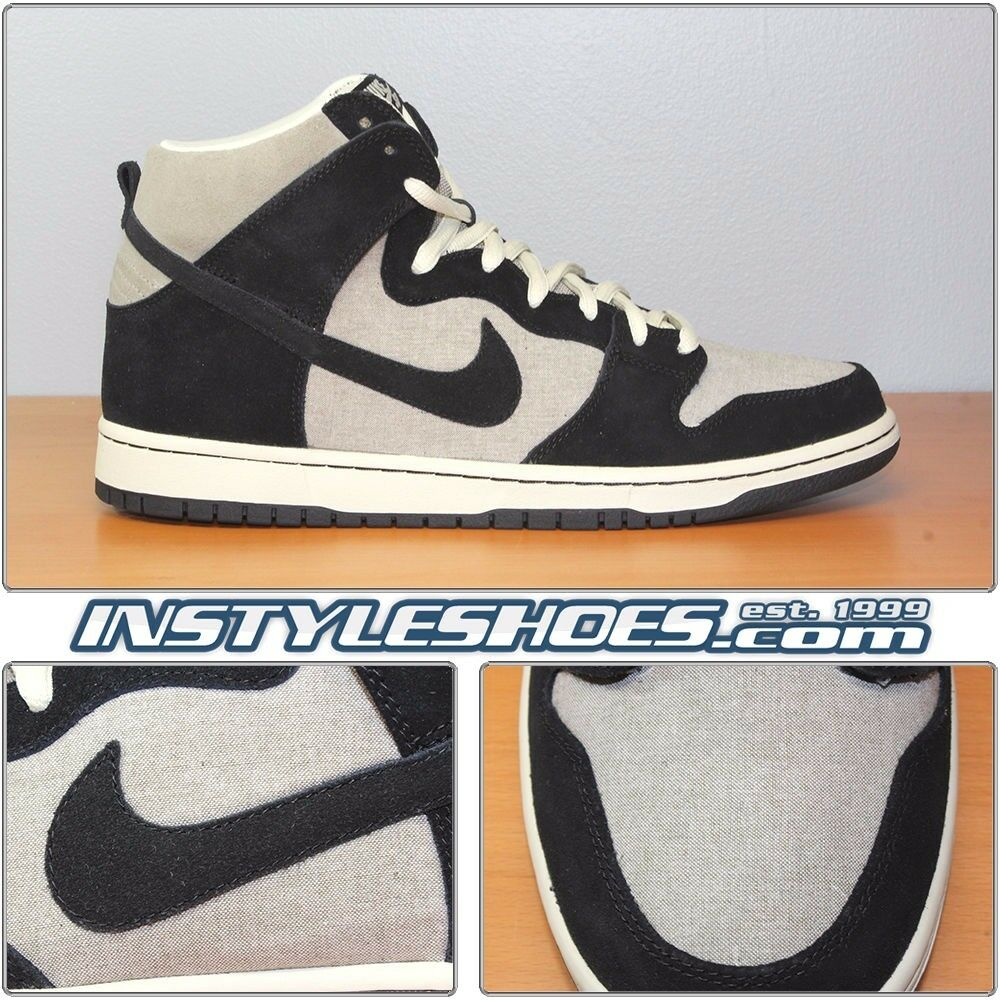 Nike SB Dunk High Pro Grit Black Fossil 2011 305050-200