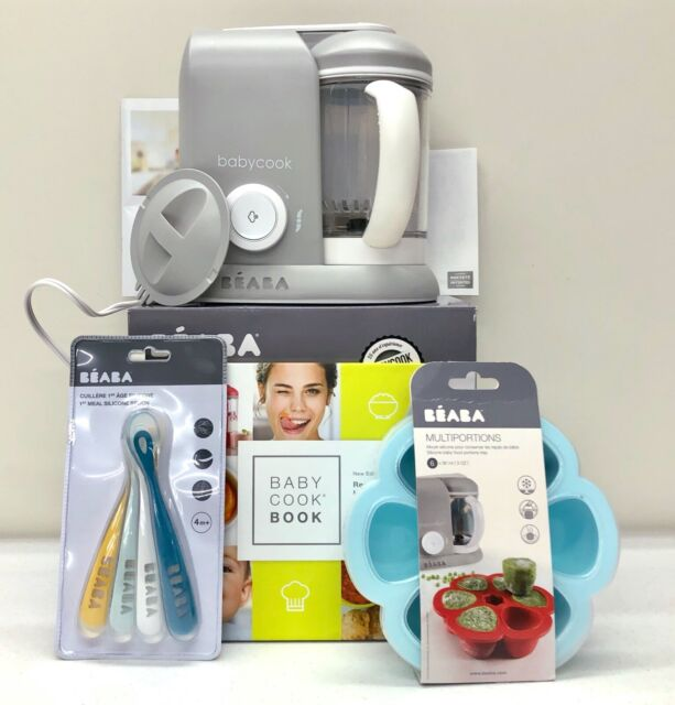 Grey Free Shipping!! BEABA Babycook Food Maker in Cloud Brand New