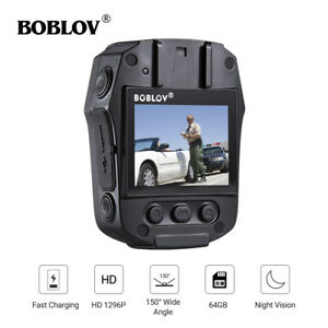 64GB-1296P-Police-Body-Worn-Camera-Security-Guard-Camcorder-Recorder-Night-Visio
