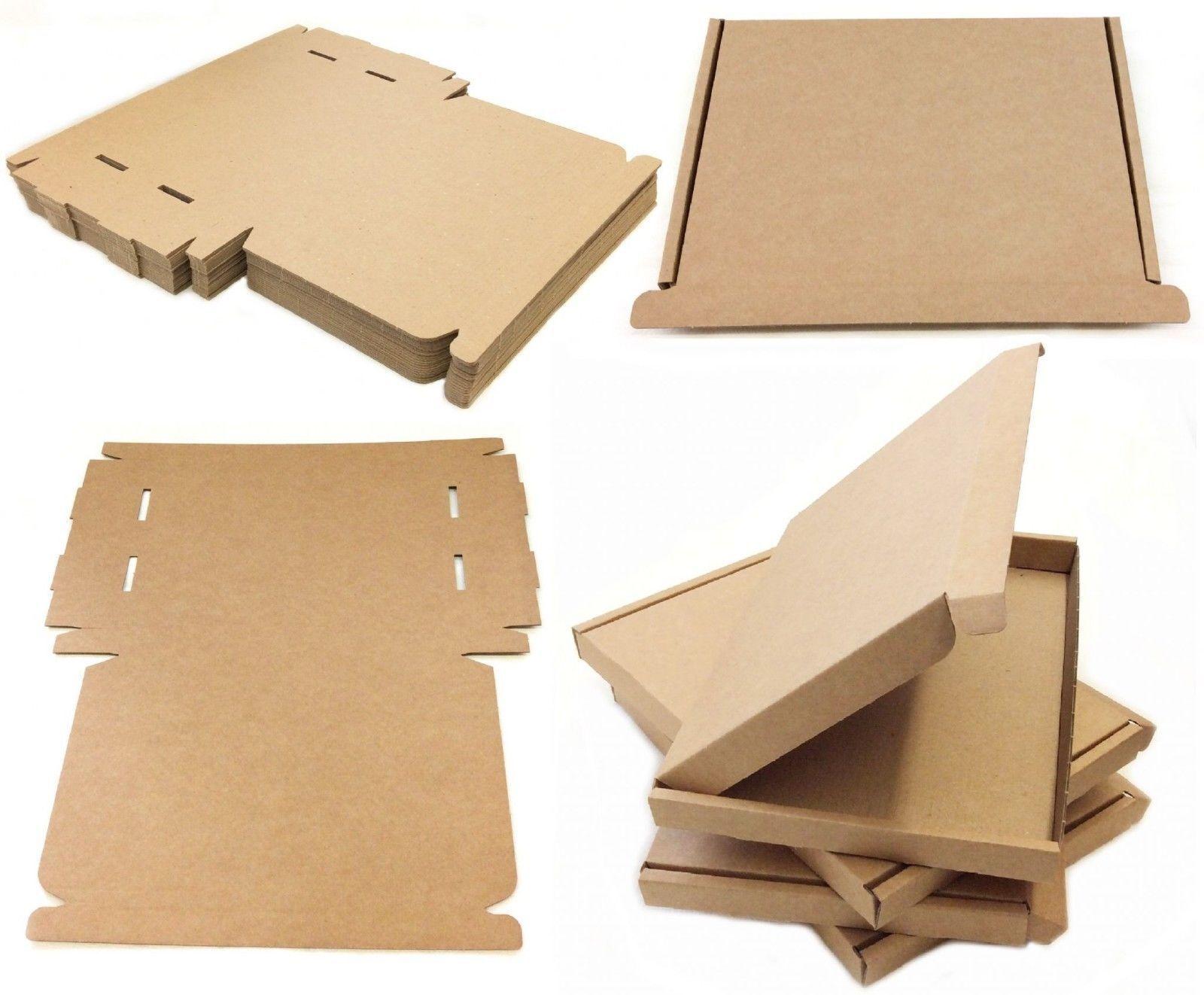 Marron Puissant Carton Lettre Envoi Large C4/A4 Taille, Pip Envoi Lettre Postal Boîte 8f4839
