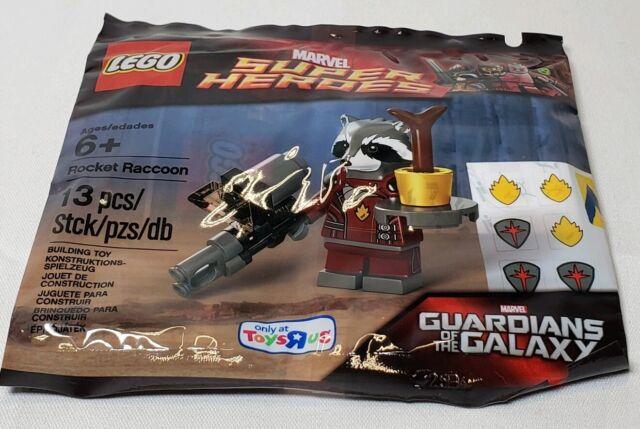 ToysRUS Exclusive LEGO new POLYBAG MARVEL Rocket Raccoon Guardians Galaxy Figure