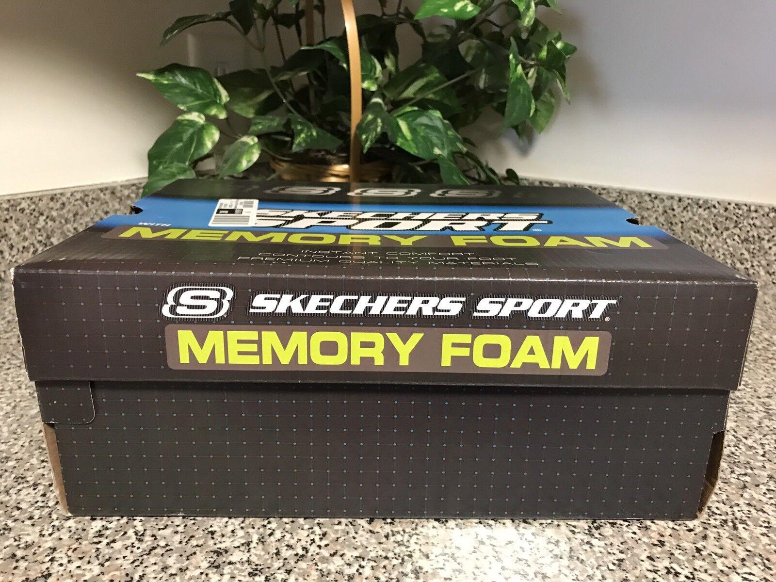 SKECHERS Sport Men's Vigor 2.0 Trait Memory Foam Sneaker Wide Fit Comfortable Special limited time