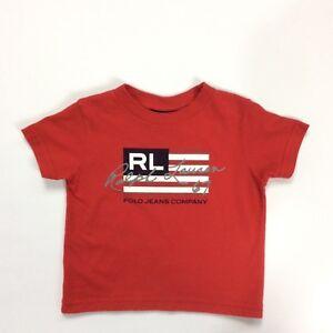 69fd25ee4 Ralph Lauren Toddler Polo Jeans T-Shirt Ralph Lauren 67 Signature ...