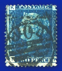 1876-SG47-2d-Deep-Blue-Plate-15-G3-2-MISPERF-TK-Good-Used-CV-38-anyr