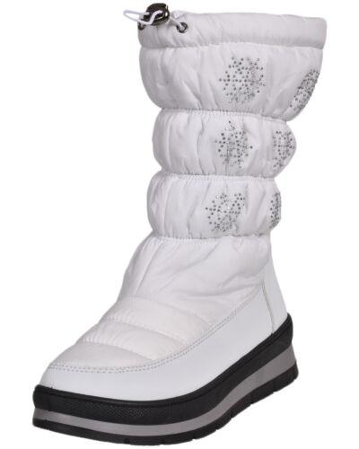 Winter Schneestiefel Damen Steppdecke Fleece Wasserfest Strass Warme Schuhe