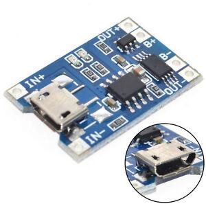10pcs-1a-5v-tp4056-Lithium-Battery-Charging-Modul-USB-Board-elektronische-Weihe