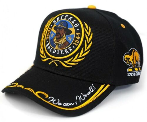 Buffalo Soldiers Cap Ready And Forward