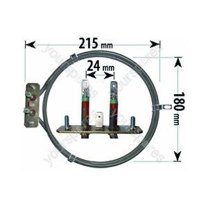 Compatibile con Belling Fornello Elemento Ventola Forno XOU177 XOU252 2000 W