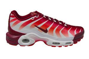 Détails sur Homme Nike Tuned 1 Air Max Plus TN SE * RARE * AQ0237101 blanc Team Red Trainer afficher le titre d'origine