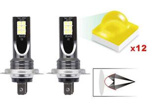 2X-H7-LED-110W-6000K-Ampoules-Voiture-Kit-Feux-Phare-Anti-Lampe-Xenon-Blanc