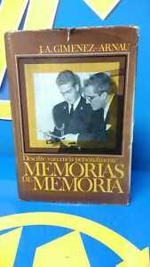 Book-Memories-of-Memory-J-a-Gimenez-arnau-Editions-Fate-1978