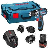 Bosch Gsr 12 V-15 Professional Flexi-click Drill/driver Set