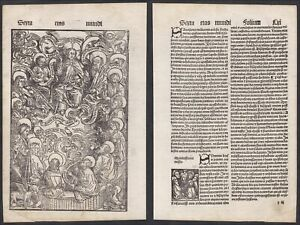 1496-Jesus-Christus-Apostel-Christ-Schedel-Incunable-Inkunabel-Holzschnitt