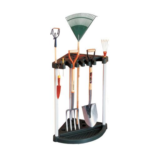 Ständer Gartengeräteständer Eckenbehälter Eckenständer Werkzeugtrager  Keter