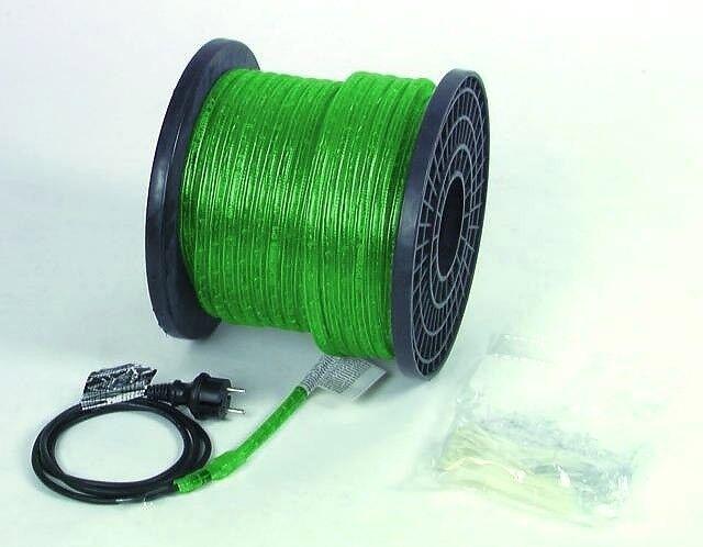 EUROLITE RUBBERLIGHT RL1-230V grün 44m  | Schön In Der Farbe