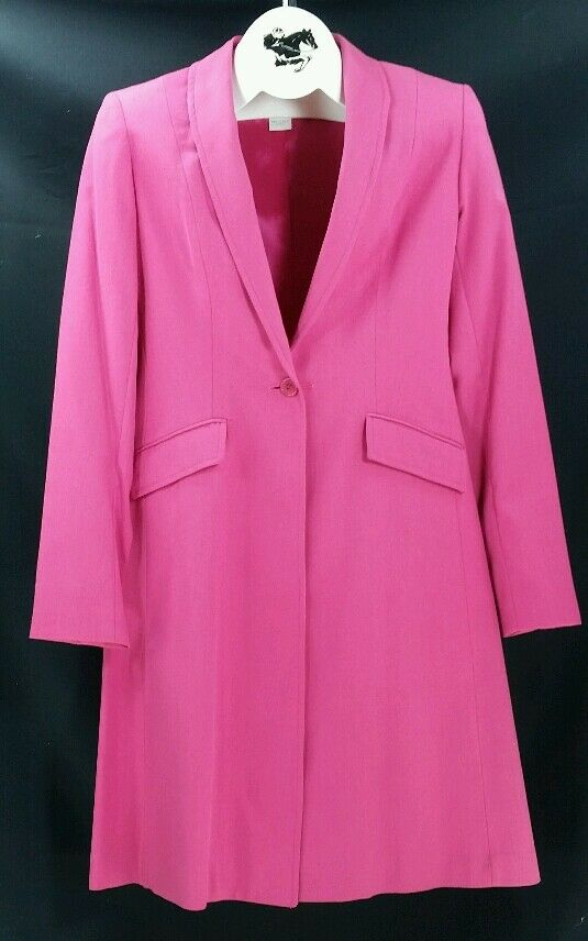 Reed Hill Saddleseat Day Coat Hot rosa / Rose Wool/Poly blend size 8 USA