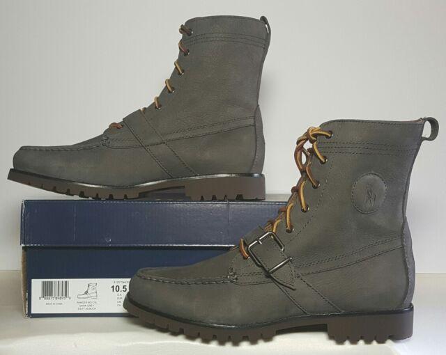 812570443003 Ranger Silky Boots Nubuck Polo Multi Lauren Grey SzNewbox Ralph lKcF1JT