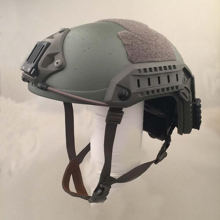 FG Lightweight Aramid Fiber Maritime Helmet Green Size M L