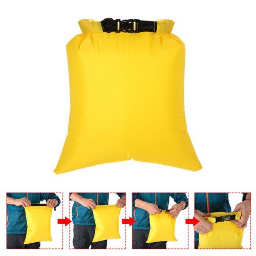 5 PCS Waterproof Bag Set Storage Roll Top Dry Bag Set for Skating Camping Hiking