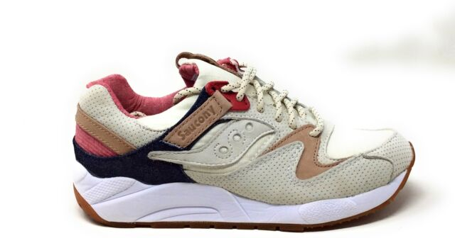 57bc48ed Saucony Mens Grid 9000 Running Sneaker Shoes Light Tan Size 6 M US
