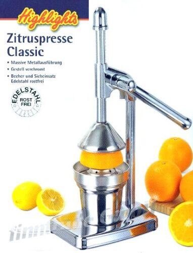 SAFTPRESSE Zitronenpresse ENTSAFTER Orangenpresse NEU