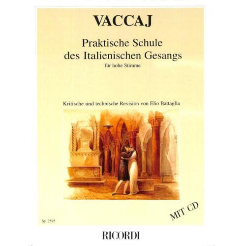 Vaccai Nicola Praktische Schule des italienischen Gesangs für hohe Stimme 2595