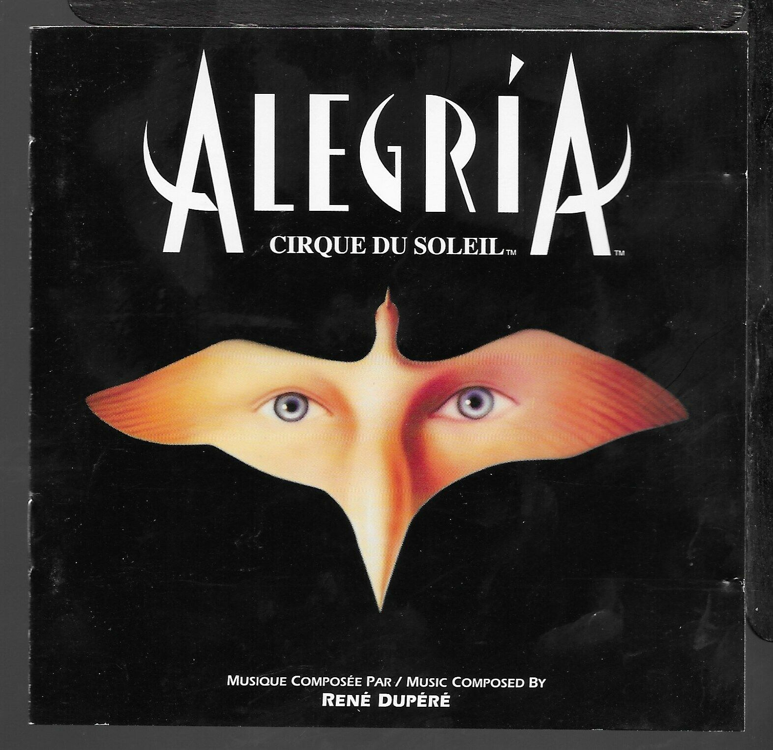 Cirque Du Soleil Alegría By Cirque Du Soleil Cd Sep 1994 Rca For Sale Online Ebay