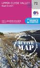Upper Clyde Valley, Biggar & Lanark by Ordnance Survey (Sheet map, folded, 2016)